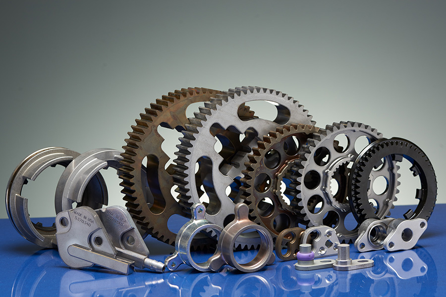 Gears and disks, an example of the kind of products we are able to produce through advanced manufacturing.