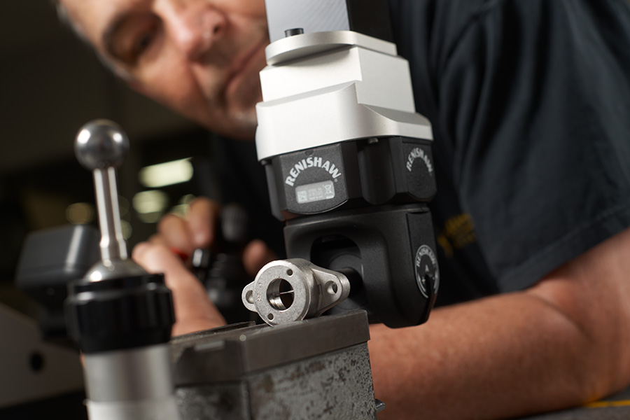 Man working on advanced manufacturing solution from Catalus